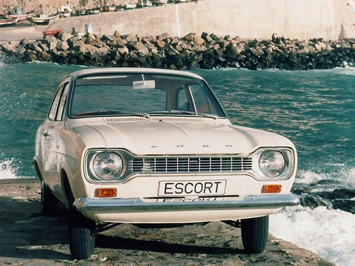 Classic Ford meeting - 50 Years Ford Escort MK1 (Nazareth)