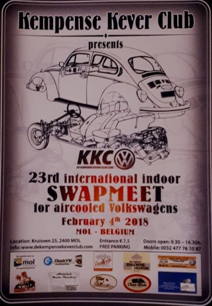 Swapmeet For Aircooled Volkswagen (Mol)