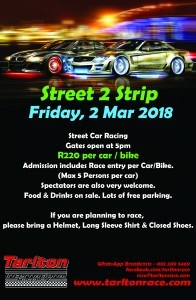 Street 2 Strip – Tarlton International Raceway (1)