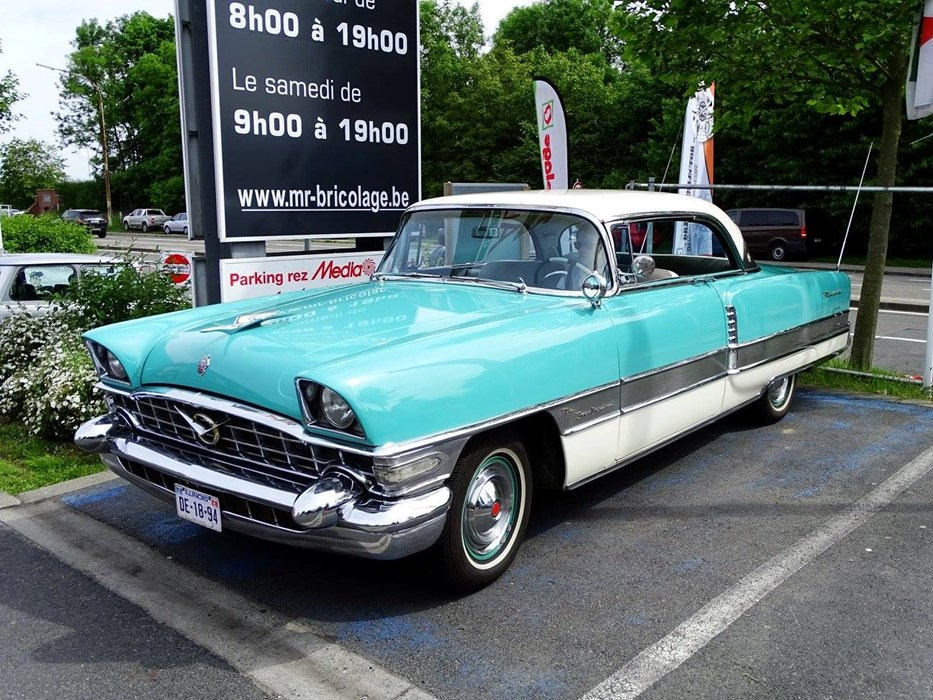 1956 packard four hundred hardtop coupe packard all models wagen te koop classic car passion. Black Bedroom Furniture Sets. Home Design Ideas