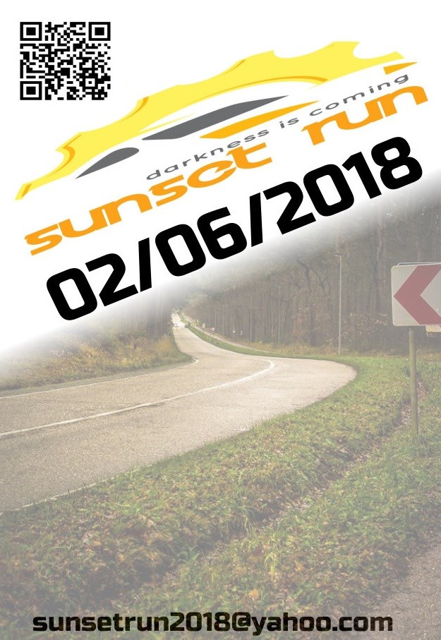 Sunset run 2018