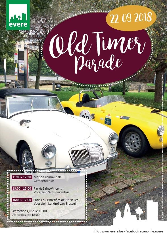 Old Timer Parade Evere
