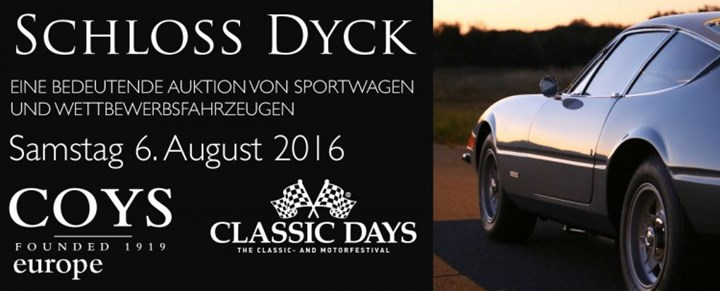 5th Aug 2017 - Coys - Coys at Schloss Dyck