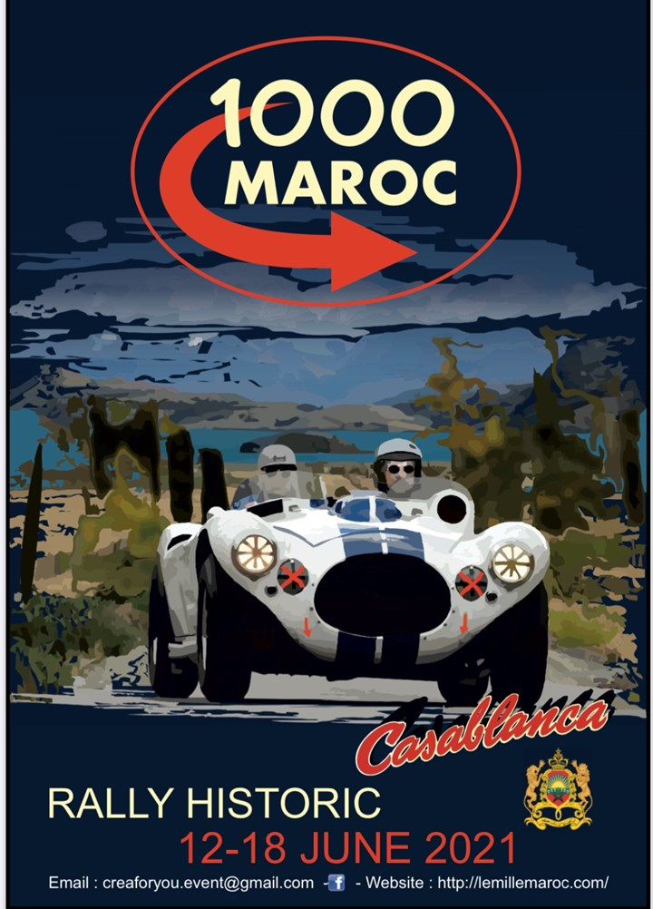 Le Mille Maroc Classic Rally 2021