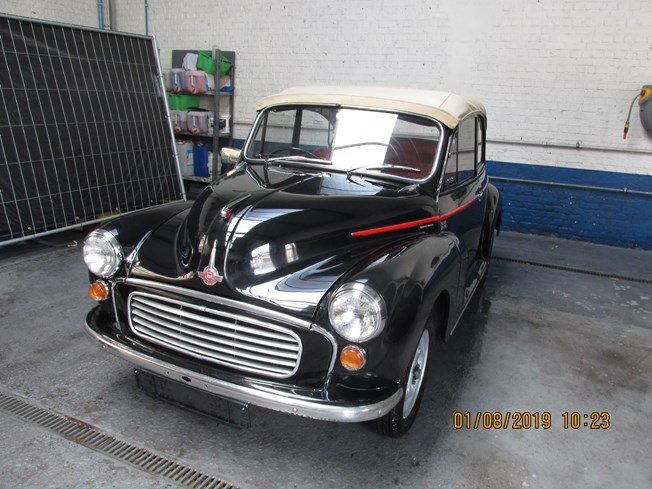 Morris Minor cabriolet 1967 RHD