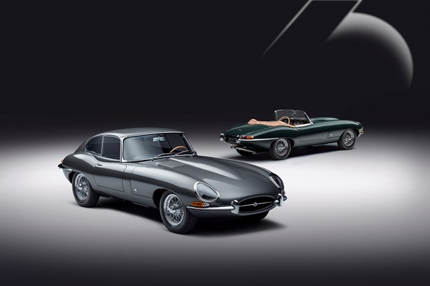 Jaguar celebrates 60 years of the E-Type in style