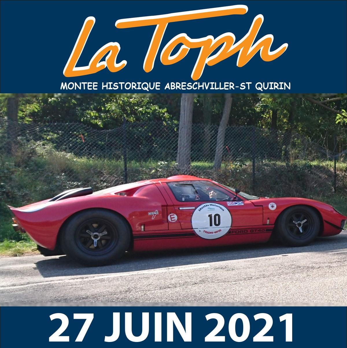 Montée Historique 2022 Calendrier LA TOPH MONTEE HISTORIQUE ABRESCHVILLER ST QUIRIN   Classic Car