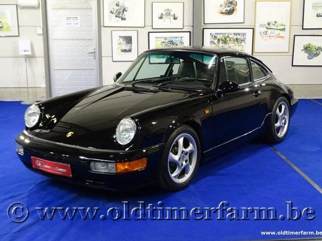 Porsche 911-964 Carrera 4 Coupé Black '92