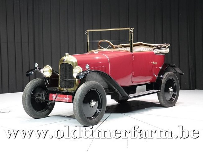 Citroën 5HP Torpédo Cabriolet 2 Places C.2 '23