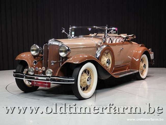 Chrysler New Series Six Cm Roadster '31