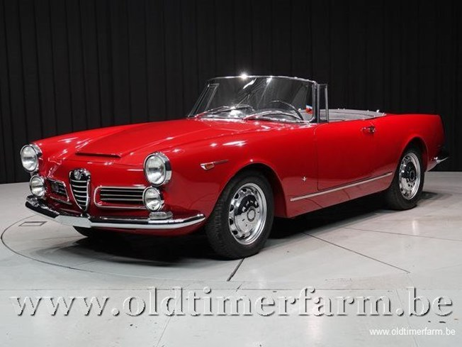 Alfa Romeo 2600 Spider by Touring '66