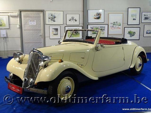 citro n traction avant cabriolet 39 34 citro n other models. Black Bedroom Furniture Sets. Home Design Ideas