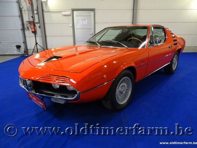 Alfa romeo montreal orange red 39 72 alfa romeo montreal for Garage alfa romeo luxembourg