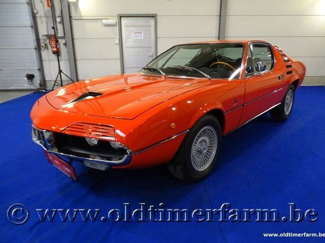 Alfa Romeo Montreal Orange-Red '72