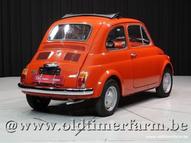 fiat 500r 39 74 fiat 500 pre 75 voitures vendre classic car passion. Black Bedroom Furniture Sets. Home Design Ideas