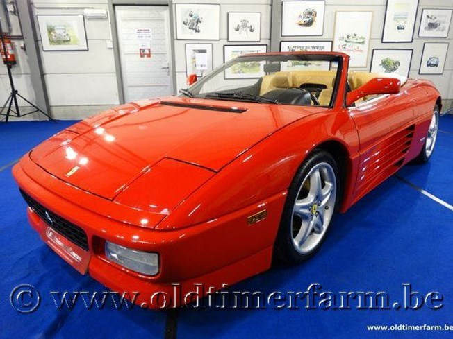 Ferrari 348 Spider US Cabriolet Red '94