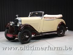 Amilcar All Models 1932