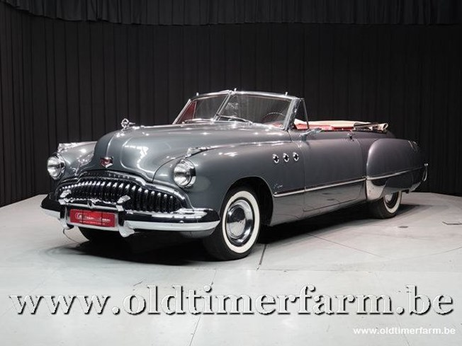 Buick Super Eight Convertible '49