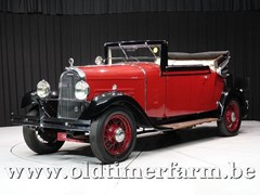 Chenard Walcker All Models 1932