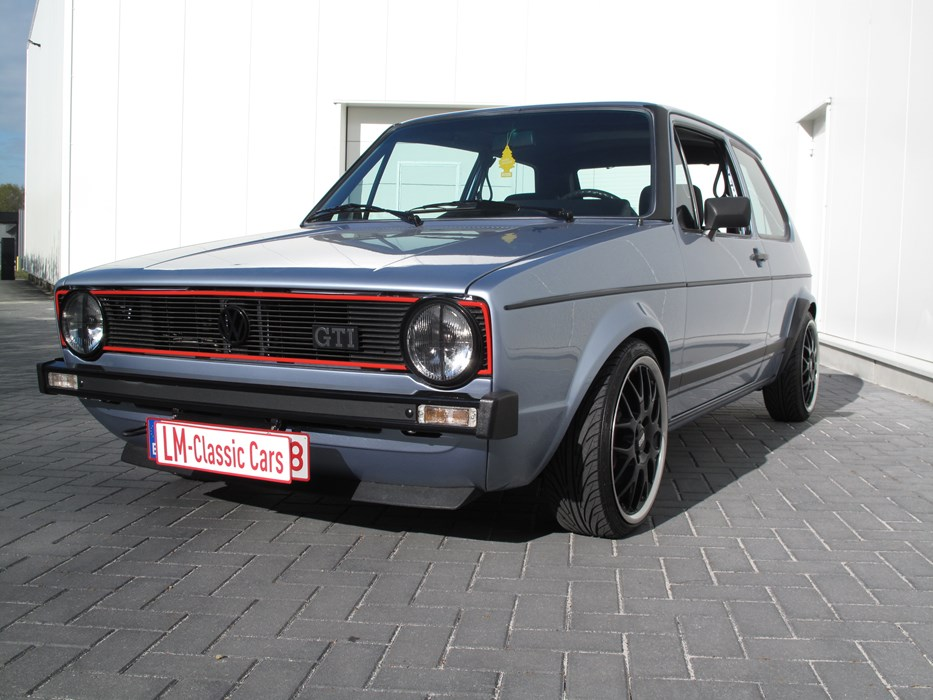 volkswagen golf mk1 gti volkswagen golf gti mk1 mk2 voitures vendre classic car passion. Black Bedroom Furniture Sets. Home Design Ideas