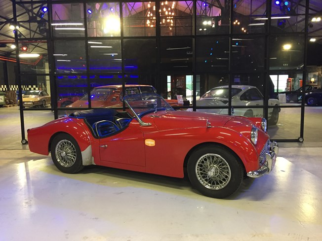 Triumph Tr3 - A louer - Te huur - To rent