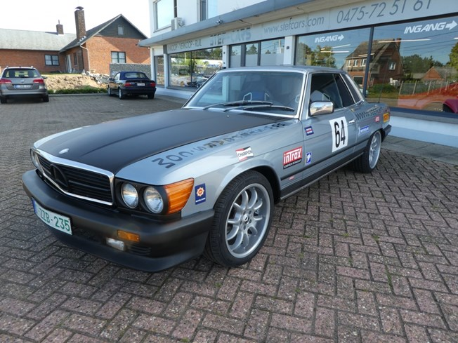Mercedes 280 SLC Rally met OHB