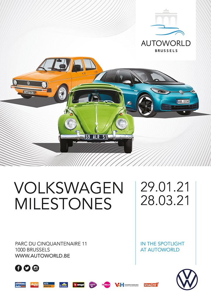 VOLKSWAGEN MILESTONES  ... in the Spotlight at Autoworld