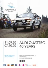 Autoworld - Audi Quattro - 40 Years