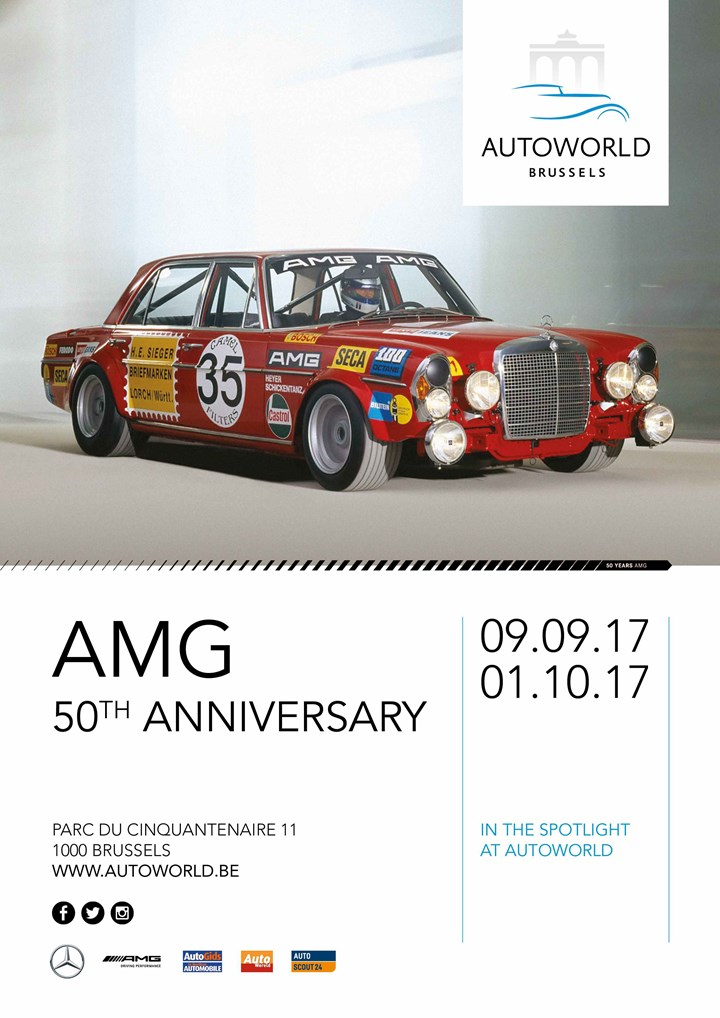 AMG 50the Anniversary & Lotus 7 Story