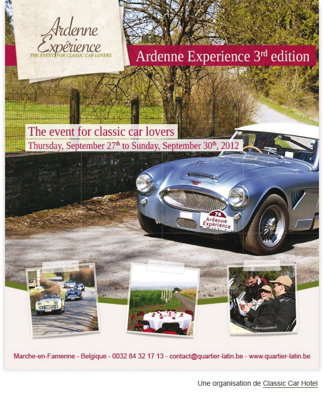 ARDENNE EXPERIENCE 3rd EDITION