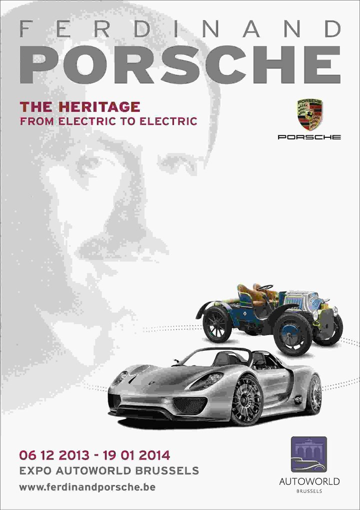 Ferdinand Porsche, The Heritage « from electric to electric »