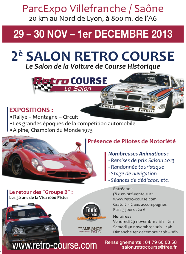 Salon Rétro-course