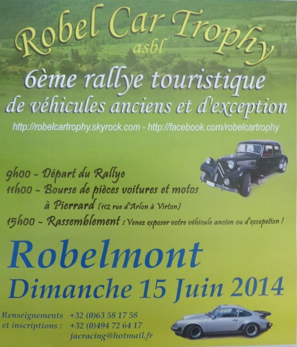 Robel Car trophy, ASBL