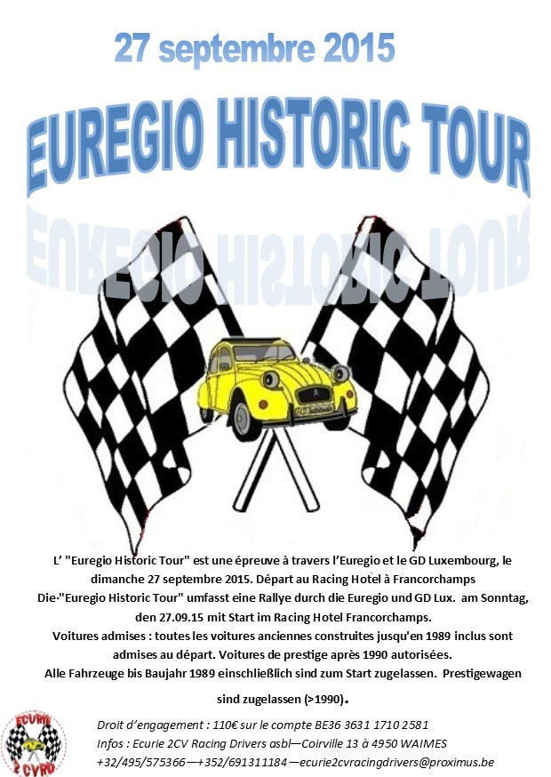 Euregio Historic Tour