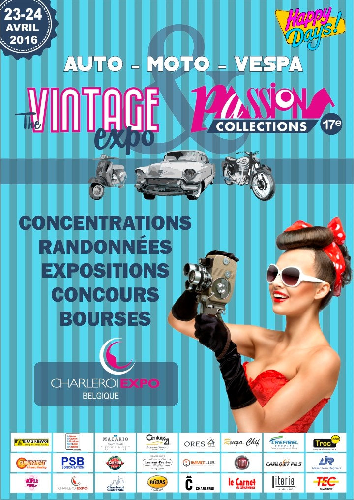 The Vintage Expo & Passions Collections 2016