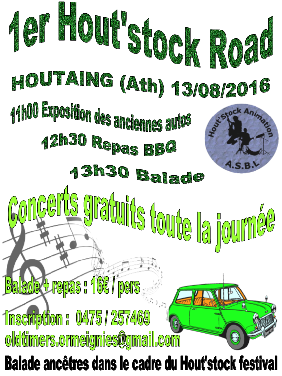 1er Hout'stock Road