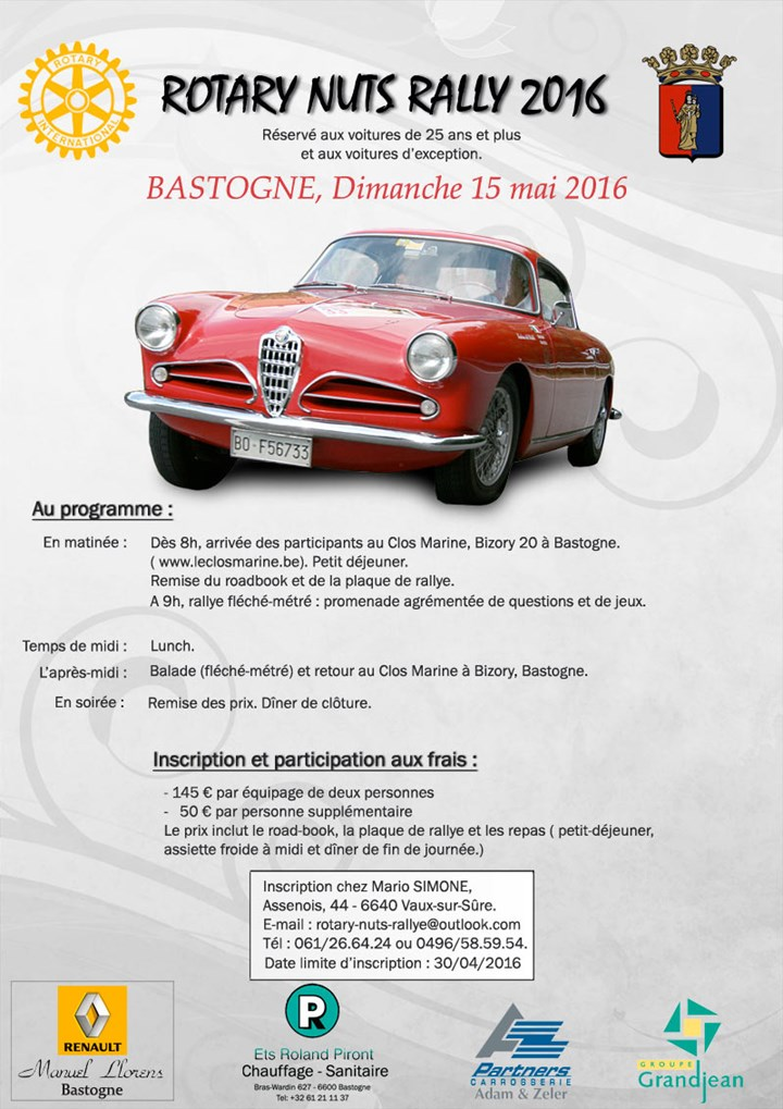 Rotary Nuts Rally Bastogne