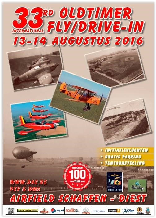 33th edition of the Oldtimer Fly/Drive-In