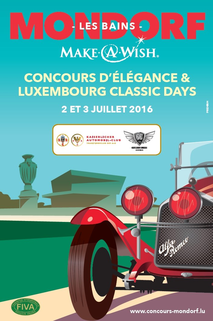 4 ème  Make-A-Wish Concours d'Elegance  & Luxembourg Classic Days