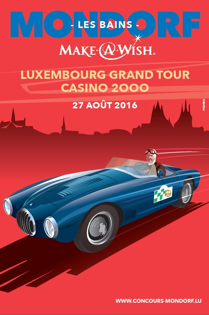 3 ème  Make-A-Wish Luxembourg Grand Tour