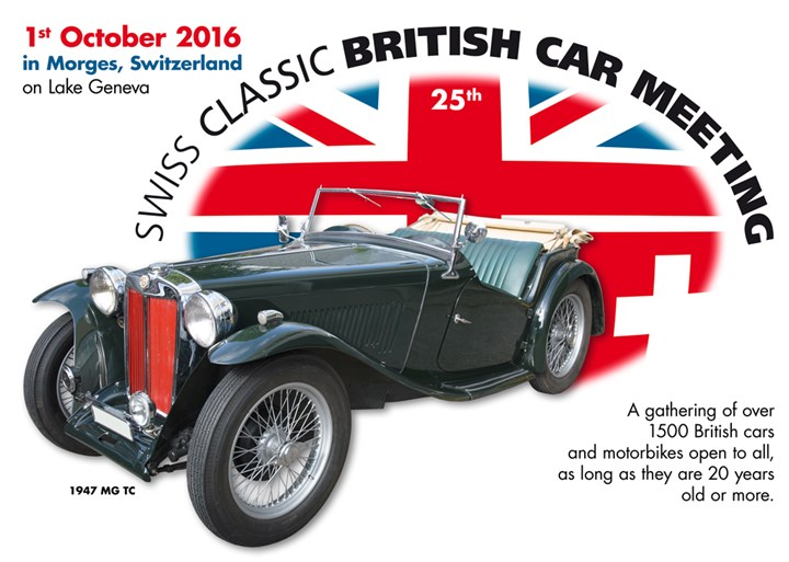 Swiss Classic British Car Meeting