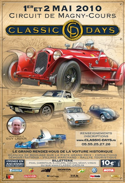 france classic days le grand rendez vous de la voiture historique sur le prestigieux circuit. Black Bedroom Furniture Sets. Home Design Ideas