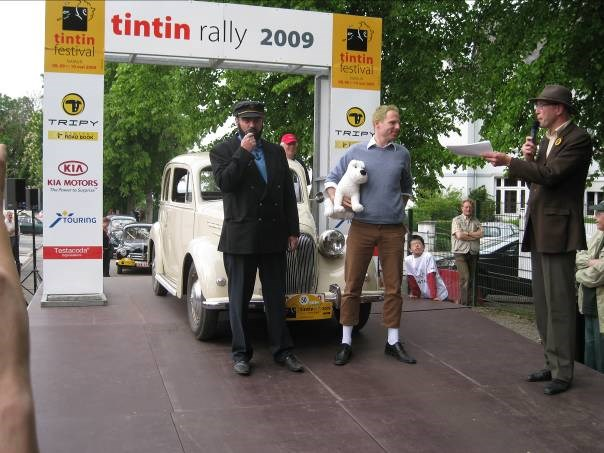 TINTIN RALLY 2010 - REPORTE A DATE ULTERIEURE !