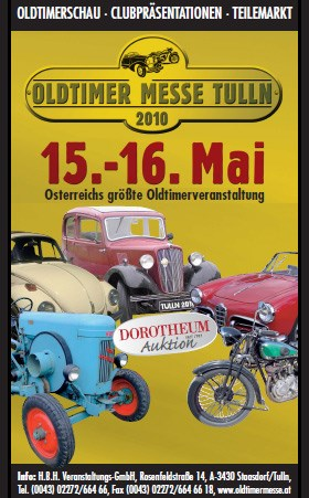 AUTRICHE - 22. Int. Oldtimer Messe Tulln