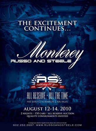 Russo and Steele Monterey Auction Event