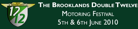 Brooklands Double Twelve Festival