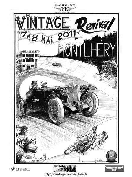 FRANCE - Vintage Revival Montlhéry