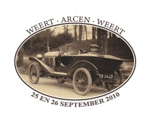 HOLLANDE - Weert Arcen Weert cyclecars meeting