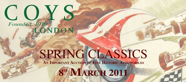 Coys - 'Spring Classics' London