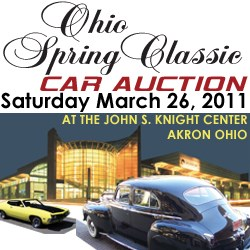 Classic Motorcar Auctions - Ohio Spring Classic Car Auction